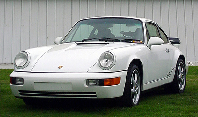 Don T's RSA shows that the look of a white car with black trim is hard to beat.